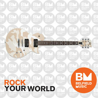 ESP LTD WA-200 Warbird Will Adler Signature Electric Guitar White Camo - BM