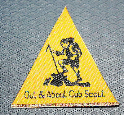 Scout Badge Out and About Cub Scout