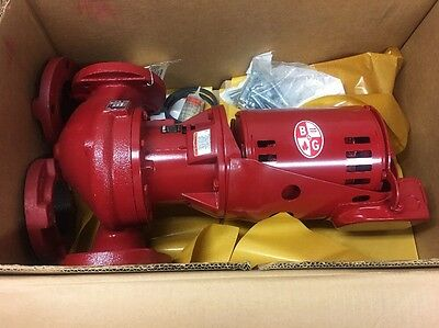 "Bell & Gossett PD35T 3"" Series PD Booster Pump 105093; 1/2 HP Motor, 1750 RPM"