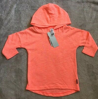 BONDS *BNWT* Fluro Orange Hoodie Top Size 0. 10 Items = $5 Post