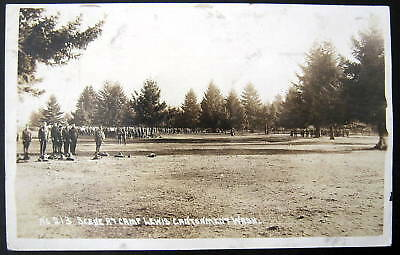1900's CAMP LEWIS CANTONMENT WASH. -- No. 213 ~ RPPC