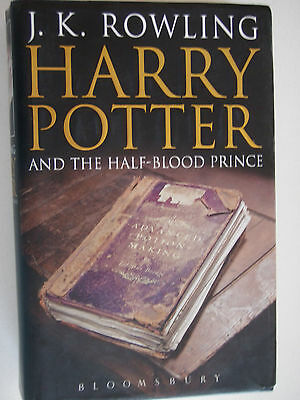 Harry Potter And The Half Blood Prince Book 1St First Edition 2005