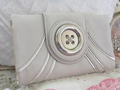 STUNNING ~*MIMCO*~ SOFT LEATHER~*Metal Button*~CLUTCH PURSE / WALLET *GORGEOUS*
