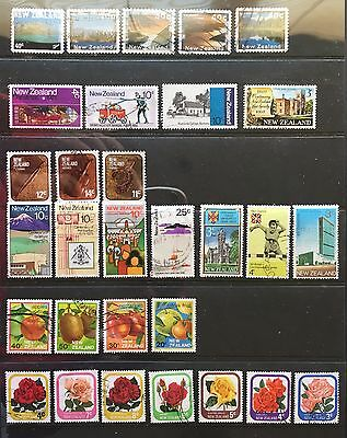 New Zealand Used Stamps Off Paper - 5 scans