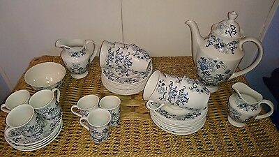 Royal Doulton Nankin Tea and Coffee set