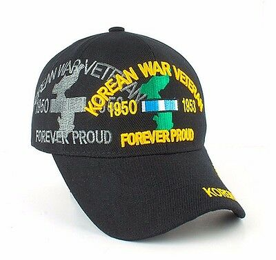 4c11d65d6df Korean War Veteran Ball Cap US Army Marine Corps Navy USMC USCG USAF Korea  Vet