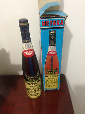 METAXA 5 Star Vintage GRANDPRIX San Francisco 1915 1888 Sealed & Boxed 23 FL OZ