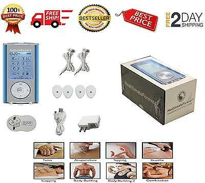 Electric Massage Machine Muscle Pulse Stimulator Pain Relief Therapy Massager