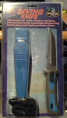 Scuba Dive Snorkle Diving Knife Land & Sea 420 stainless steel