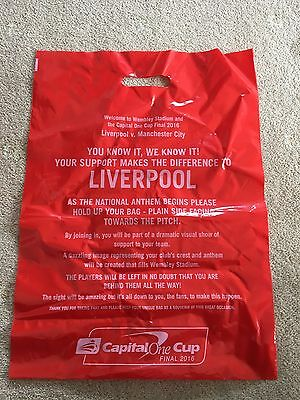 2016 Capital One Cup League Cup Final Mosaic Liverpool End Souvenir RARE