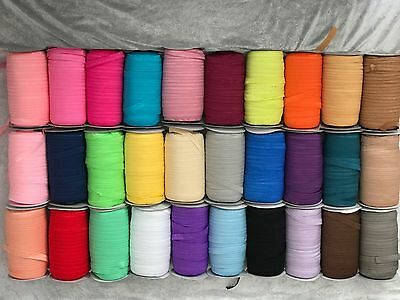 Baby Girls Hairband 20 Metres 15mm Foldover Elastic Roll for Headbands FOE + Lot