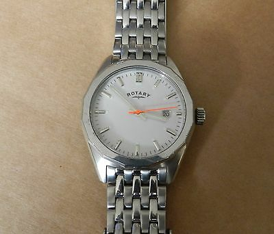 Mens Rotary Seville Gb00226 Watch Working *needs Repair*