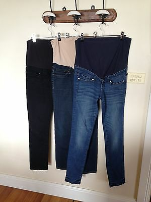 Maternity Jeans x 3 Size 8/10 Skinny/Slim leg H&M, Jeans West