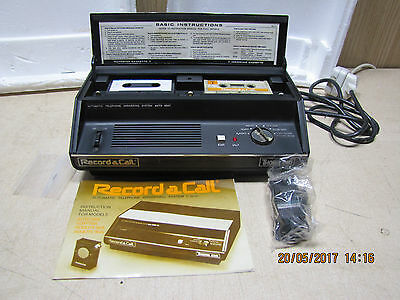 Thorn EMI Record a Call 60AT vintage retro telephone Answering machine