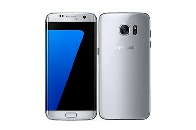 Samsung Galaxy S7 Edge G935A 32Gb Unlocked Silver Very Good Condition