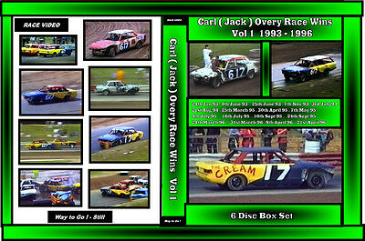 Race Video Jack Overy 17 - 617 Race Wins collection Vol 1 6 disc boxset  93 - 96