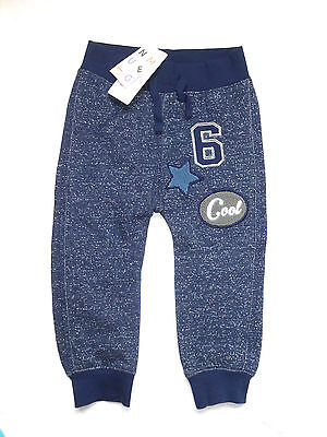 *** Bnwt - Nutmeg Boys Blue Trousers Age 12 - 18 Months