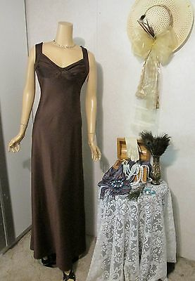 *NWT* Mother Of The Bride Dress by Onyx Nite-Size 14- Chocolate