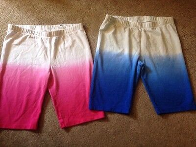 The Childrens Place.  Bike Shorts.  Size XL 14. Lot Of 2 Pairs