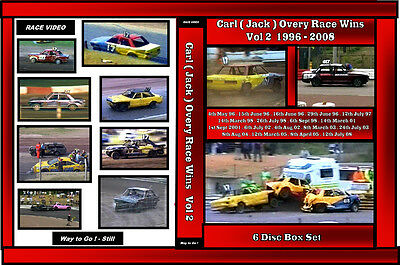 Race Video Jack Overy 17 - 617 Race Wins collection Vol 2 6 disc boxset  96 - 08