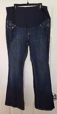 """Women's Size 16 Old Navy Maternity Jeans 33"""" Inseam N12"""