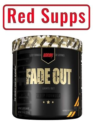 Redcon1 FADE OUT 30 serv. Increases Natural GH, Promotes Healthy Brain Function