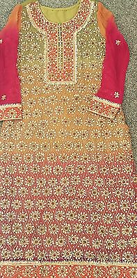 Beautiful Gota Dress Medium - Pakistani Indian - Wedding wear Bridal Mehndi Eid