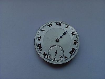 Vintage Record Watch Company Micro Regulator Pocket Swiss Watch Movement