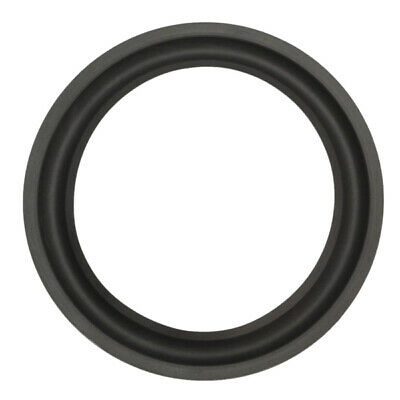 Black 8 inch Speaker Surround Decorative Circle Repair Foam for Bass Woofer Horn