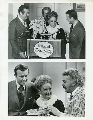 Phyllis Diller Ralph Edwards Brown Derby This Is Your Life Original '69 Tv Photo