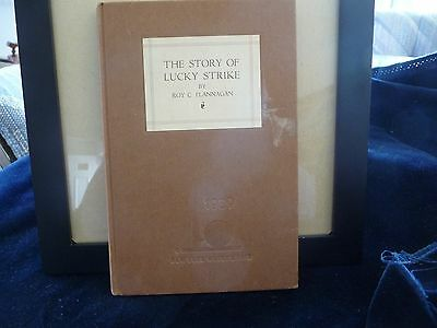 #521 vtg Adv THE STORY of LUCKY STRIKE 1938/39 Book from Worlds Fair