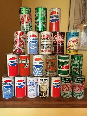 21 Different Soda Cans