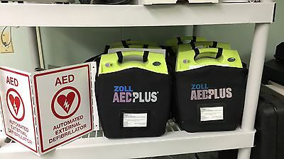 Zoll AED PLUS+ (AED) PATIENT READY/BioMed Certified