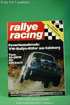 Rallye Racing 12/72 Lancia Beta Stratos GS BMW Käfer + Poster