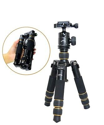 KQ-166 Travel Portable Mini Tripod With Ball Head For DSLR Camera