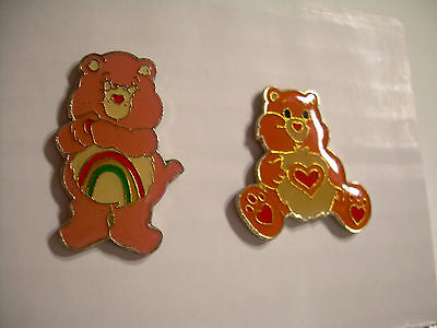 Care Bears Vintage Pins from the 80's