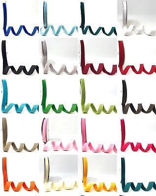 Bertie's Bows 3.5mm, 10mm, 15mm & 20mm Velvet - Sold by the metre