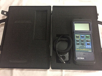 Extech 407026: Heavy Duty Light Meter with PC Interface