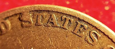 1857 Flying Eagle Cent Unknown Obverse Variety? Plainly Recut /ddo Separation