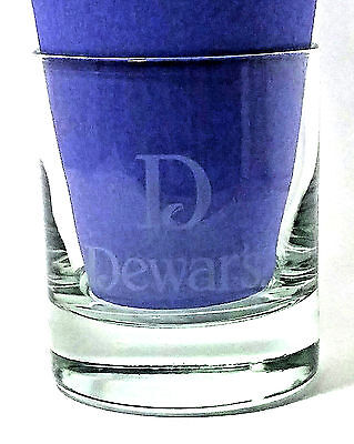Dewar's White Label Old Fashioned Lowball Rock Barware Glass, 8 oz