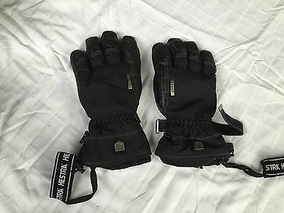 Hestra Goretex And leather Ski/snowboard Gloves