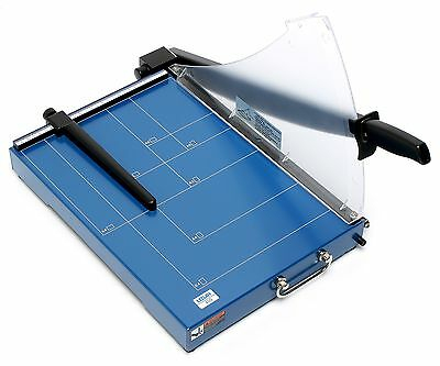 Ledah 405 A4 Professional Strong Metal Base 20-Sheet Capacity Guillotine Cutter