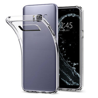 Protective Clear Rubber Gel TPU Phone Case Cover For Samsung Galaxy S8 Plus