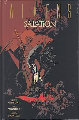 Aliens Salvation hardcover graphic novel Dark Horse Comics Gibbons Mike Mignola