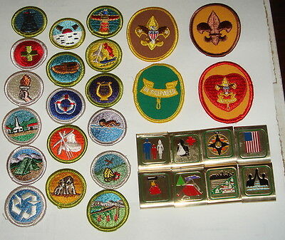Boy Scouts of America Patches, Badges, Belt Slides