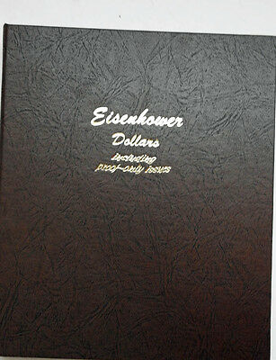 1971 - 1978 Complete Set of Eisenhower Dollars $1 in Dansco Album Proofs Only