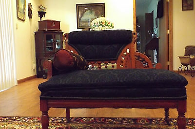 BEAUTIFUL Antique Eastlake Style Settee