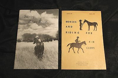 Horse Riding Training Booklets
