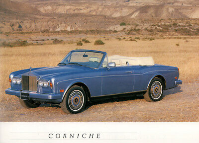 Rolls Royce Introduction To Elegance Silver Spur ~ Corniche Ii ~ Silver Spirit