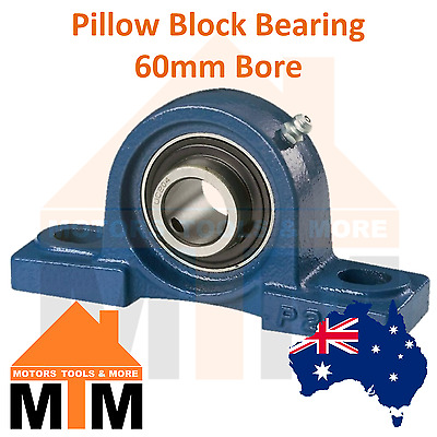 Pillow Block Bearing Self Aligning Bottom Foot Mount Housing 60mm Bore